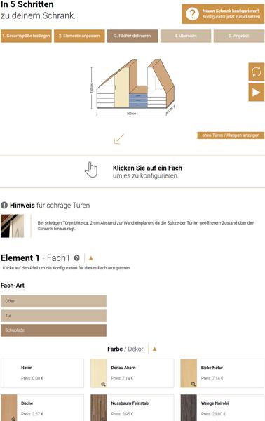 Schrank Konfigurator Für Schreiner Kostenlos Testen Schreinersachede